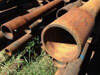 "200pcs of 3.5"" pipe"