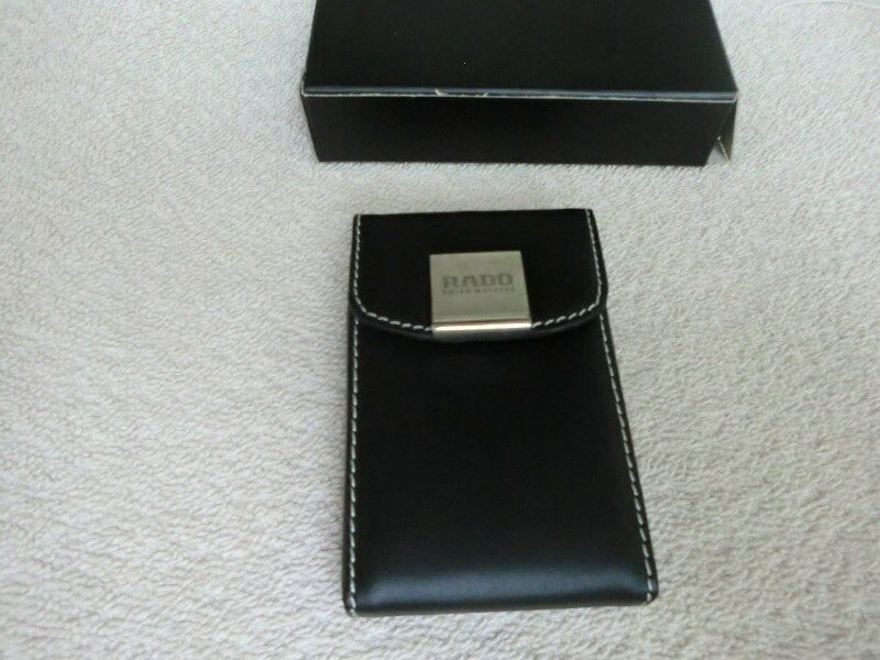 Brand: Rado Leather Name Card Holder
