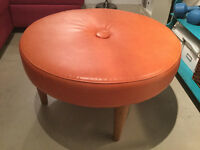 Mid century inspired Ottoman - 6 months old