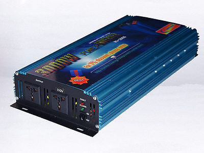 6000w Peak 3000w Power Inverter DC 12V/AC110V 120V power tool/car power/off grid