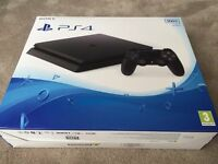 BRAND NEW SEALED! Sony PS4 slim jet black 500GB