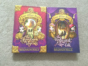 Ever after high books 1-2