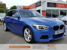 BMW 1 SERIES 125D M SPORT 2013 Diesel Manual in Blue