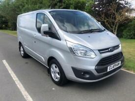 2015 15 FORD TRANSIT CUSTOM LIMITED L1H1 2.2TDCI 125PS 270 SILVER 1 OWNER NO VAT