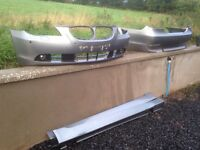 BMW 5 series bumpers