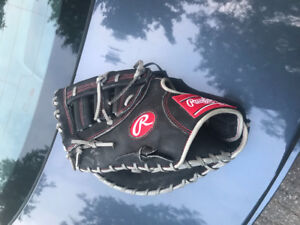 rawlings heart of the hide first base mitt/left hand throw