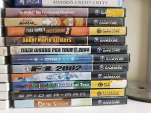 GameCube and Wii games