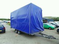 Curtainside trailer 3500 kg