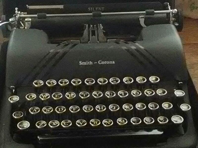 Smith and corona typewriter