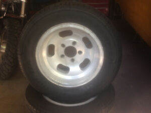 Aluminum Slots and tires