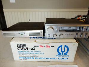 Vintage Pioneer GM-4 Component Car Stereo Amp 20 + 20 Watts Kitchener / Waterloo Kitchener Area image 4