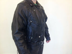 Hot Leathers Genuine Leather Motorcycle Suit Cambridge Kitchener Area image 7