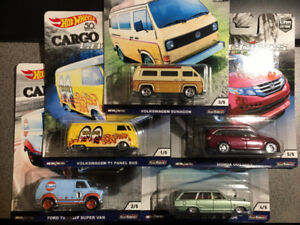 Hot wheels Cargo Carriers WHOLE SET ONLY