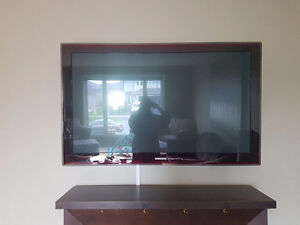 50 in Samsung Touch of Colour TV (includes a blue ray player)