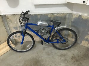 Excellent Condition Bike with Engine- Ready to ride