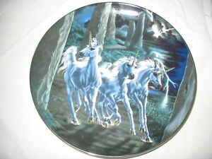 The Diamond Unicorn Series Collector Plates By The Franklin Mint Gatineau Ottawa / Gatineau Area image 2