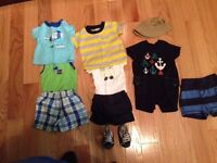 Boys summer clothing lot - size 3 months