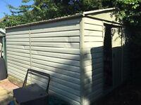 Big metal shed