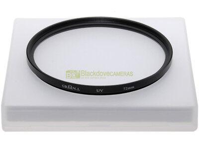 72mm. filtro UV Green L. UV filter.