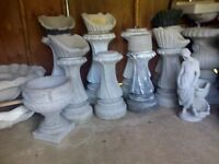 huge selection of cement ornaments