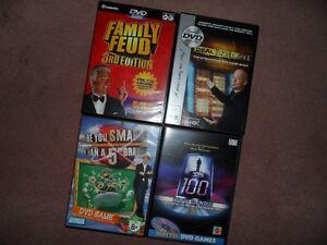 Four (4) dvd Game Show games (like new) Edmonton Edmonton Area image 1