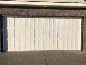 3 Used Insulated Garage Doors