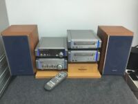 Technics audio system hifi seperates HD 55 and stand