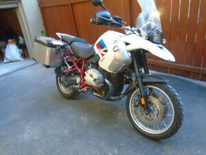 Moto BMW R1200GS Rally