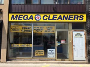 ESTABLISHED DRY CLEANING BUSINESS FOR SALE IN TORONTO