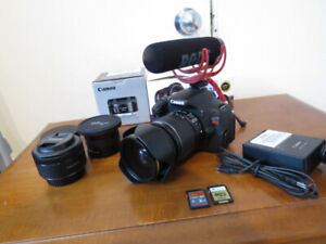 Canon t3i Kit Complet