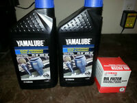 Yamaha outboard oil change kit