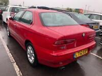 2006 Alfa Romeo 156 1.6 T.Spark 1 Owner. Mot. Tax. History. Free history