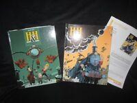 Courtes séries BD - Humour, Aventure, Polar (10-20$ la série)