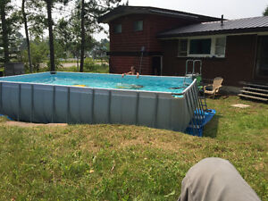 Coleman Rectangular Pool