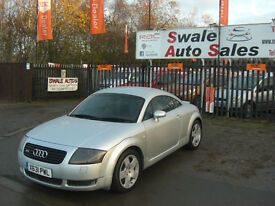2001 AUDI TT QUATTRO 1.8L ( 225bhp ) 4 WHEEL DRIVE, VERY FAST CAR