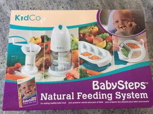 Ensemble pour faire des purées pour bébé