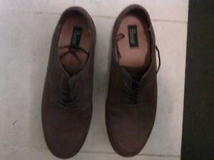 Bass mens all leather shoes -sz 10.5 (new condition)
