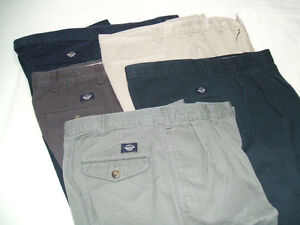 Men's Casual Dress Pants - 5 Pairs - Dockers - 30 x 30