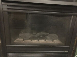 Direct Rear Vent Gas Fireplace - Heat and Glow