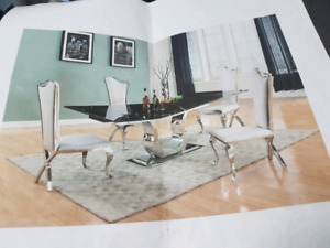Marble Dining Room Set/ Brand New/ $1900 OBO