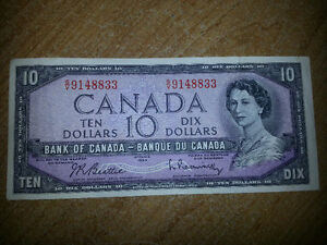 LOOKING FOR OLD PAPER MONEY PRE 1988 WHAT DO YOU HAVE??? London Ontario image 6