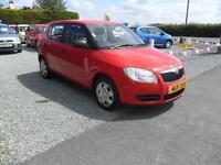 2009 (59) Skoda Fabia 1.2 HTP 1 60BHP 5d Hatchback Red