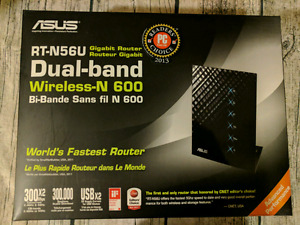 Asus RT-N56U Dual band N600 Wifi Router
