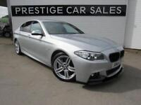 2014 BMW 5 Series 3.0 530d M Sport 4dr Diesel silver Automatic