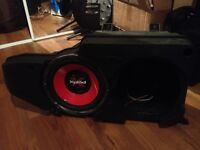 Sony Sub woofer and box