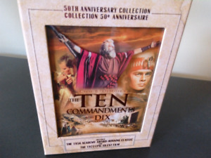 DVD  Boxed Movie Set The Ten Commandments-Reduced Price