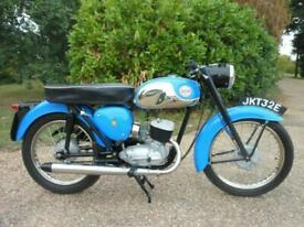 BSA BANTAM 175 D10, 1967, MATCHING NUMBERS, LIGHT WEIGHT IN LOVELY CONDITION