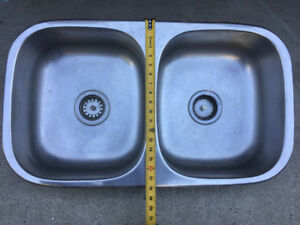 Dual Stainless Steel Sink