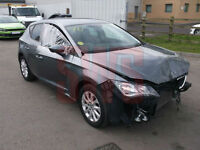 2015 Seat Leon SE TDi S-A 1.6 DAMAGED REPAIRABLE SALVAGE
