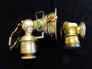 Antique Carbide Lamps